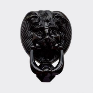 Door Knocker Black Lion
