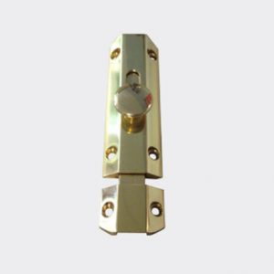 Security Stable Door Latch Gold