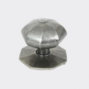 Traditional Pewter Pull Knob