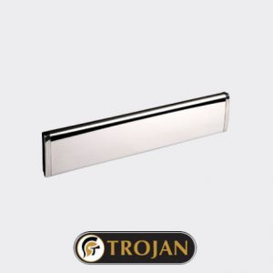 Trojan Letterplate Chrome