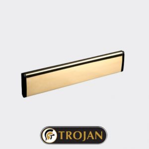 Trojan Letterplate Gold