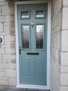 New Light Blue Door