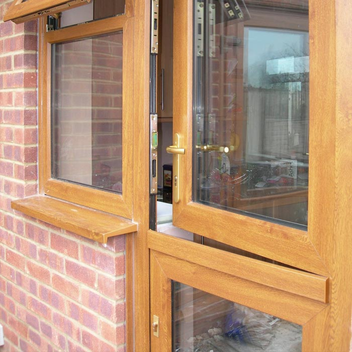 Black Upvc Windows >> uPVC/Composite Stable Doors For Houses - Sharpes Windows & Doors, Wilts