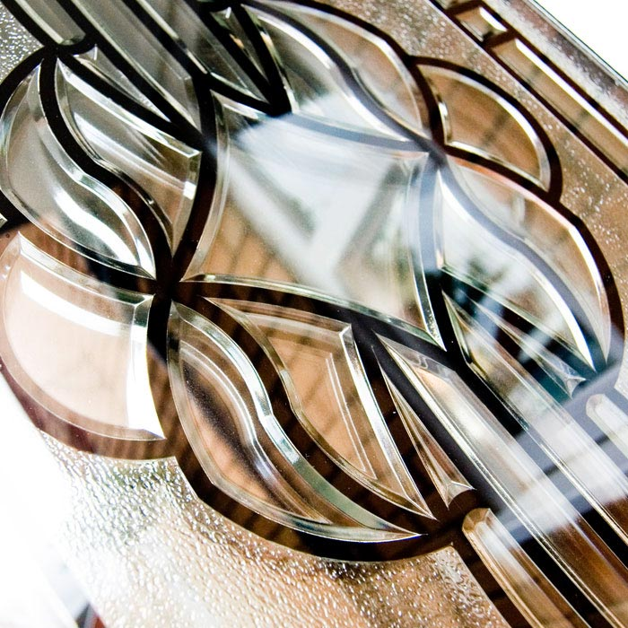 Decorative Bevelled Patterned Glass For Windows Doors Sharpes